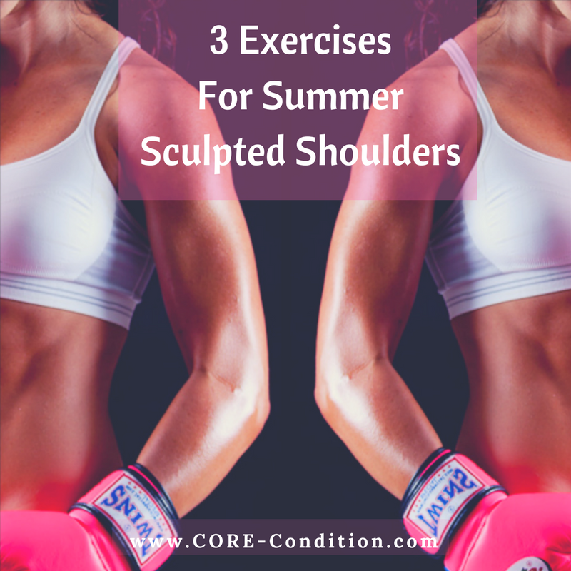 3 Exercises for Sculpted Summer Shoulders