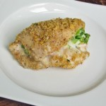 Healthy Broccoli & Cheese Stuffed Chicken