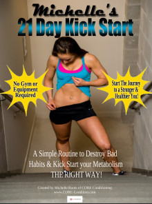 Michelle's 21 Day Kick Start Workout & Nutrition E-Book
