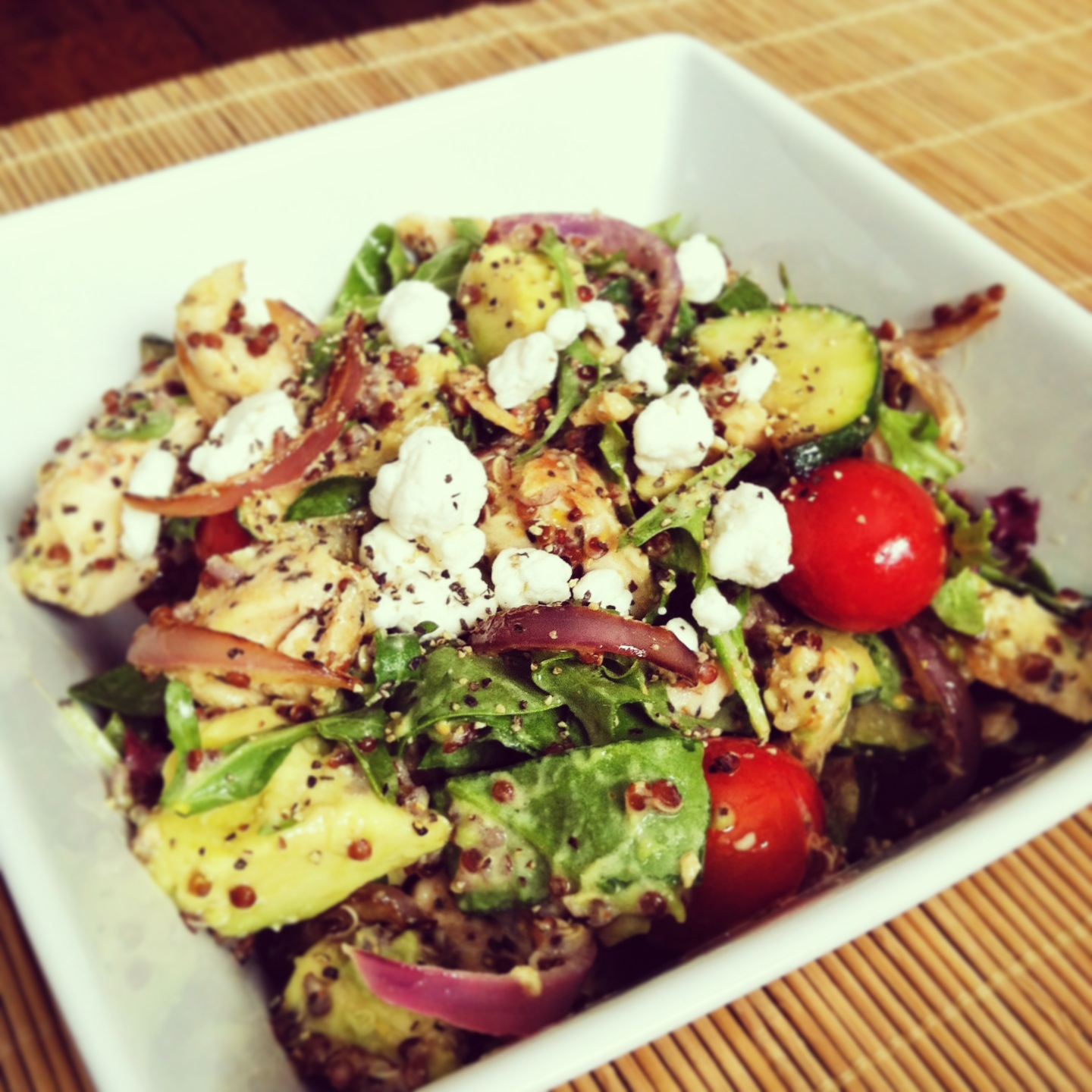 Protein Packed Spinach Salad! Sneak Peak Recipe From 21 Day July Fat Blast Challenge