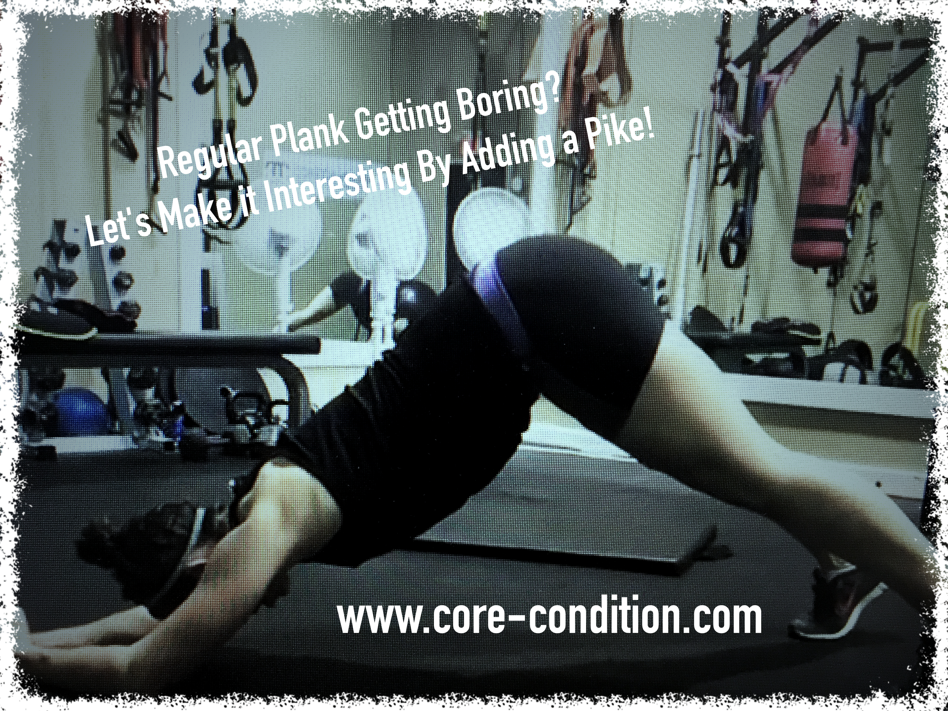 Regular Plank Getting Boring? Let's Make It Interesting By Adding a Pike!