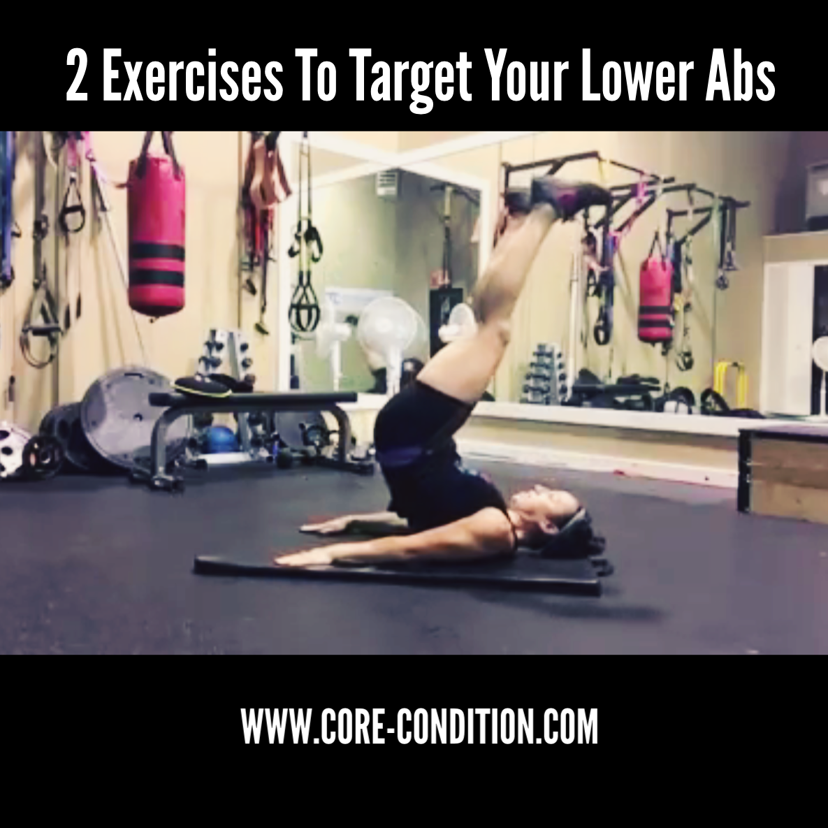 2 Exercises to Target Your Lower Abs