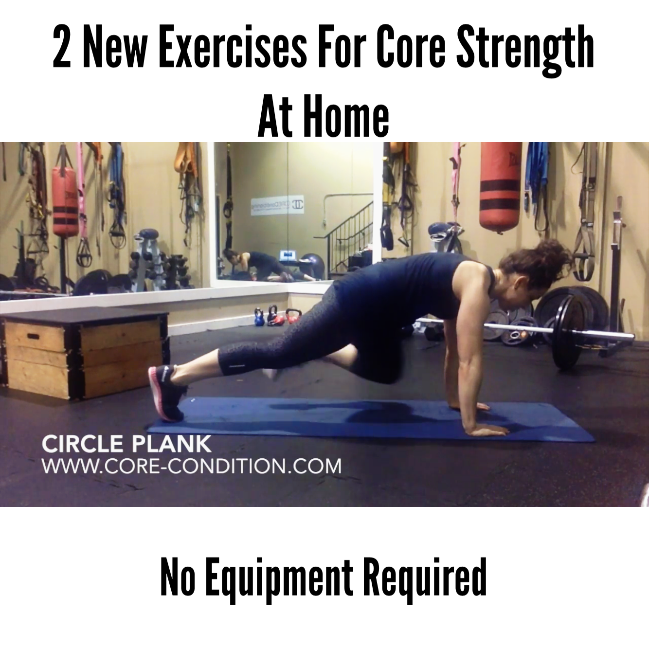 2 New Exercises For CORE Strength at Home – No Equipment Required!