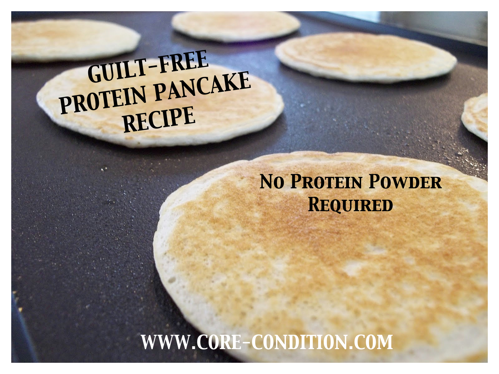 Protein Pancakes Recipe (No Protein Powder Required!)