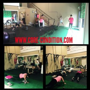 SMALL GROUP EXERCISE TRAINING SESSIONS