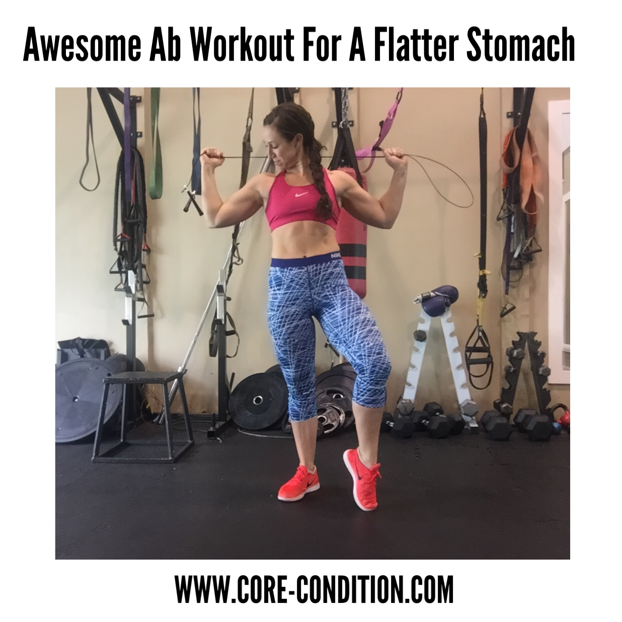 Awesome Ab Workout For A Flatter Stomach