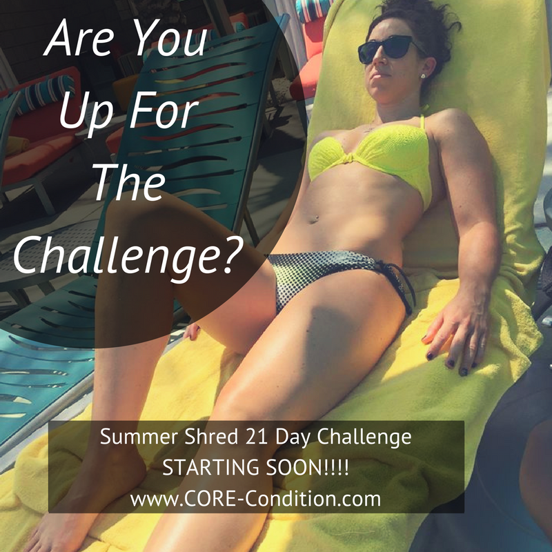 Join The Summer Shred 21 Day Challenge – Learn How To Carb Cycle For Optimal Fat Loss