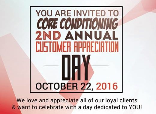 Customer Appreciation Day-Free Workouts & More