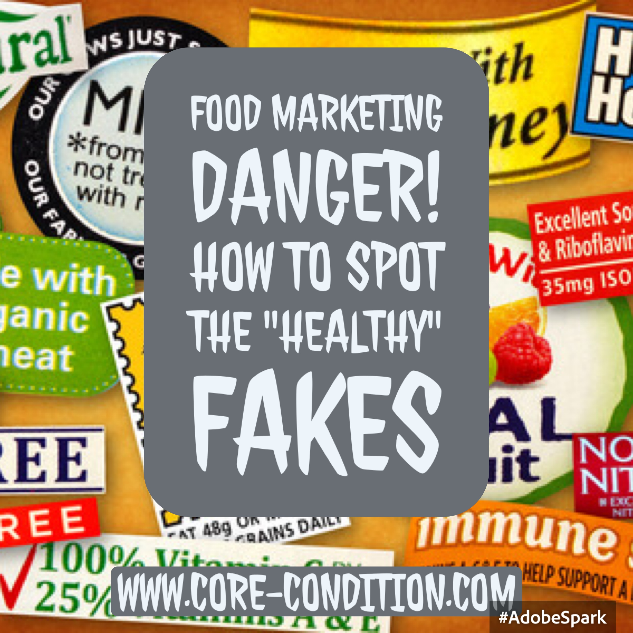 "Food Marketing Danger! How to Spot the ""Healthy"" Fakes"