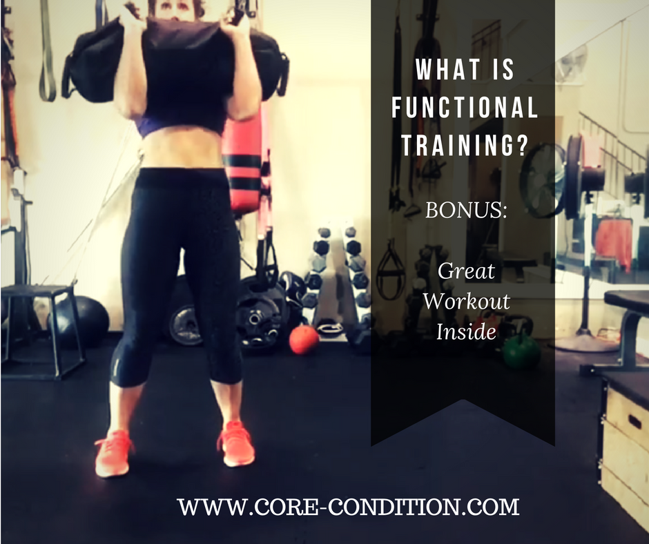 Functional Training? What it is Plus Great Workout Idea