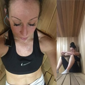 weight loss with sauna