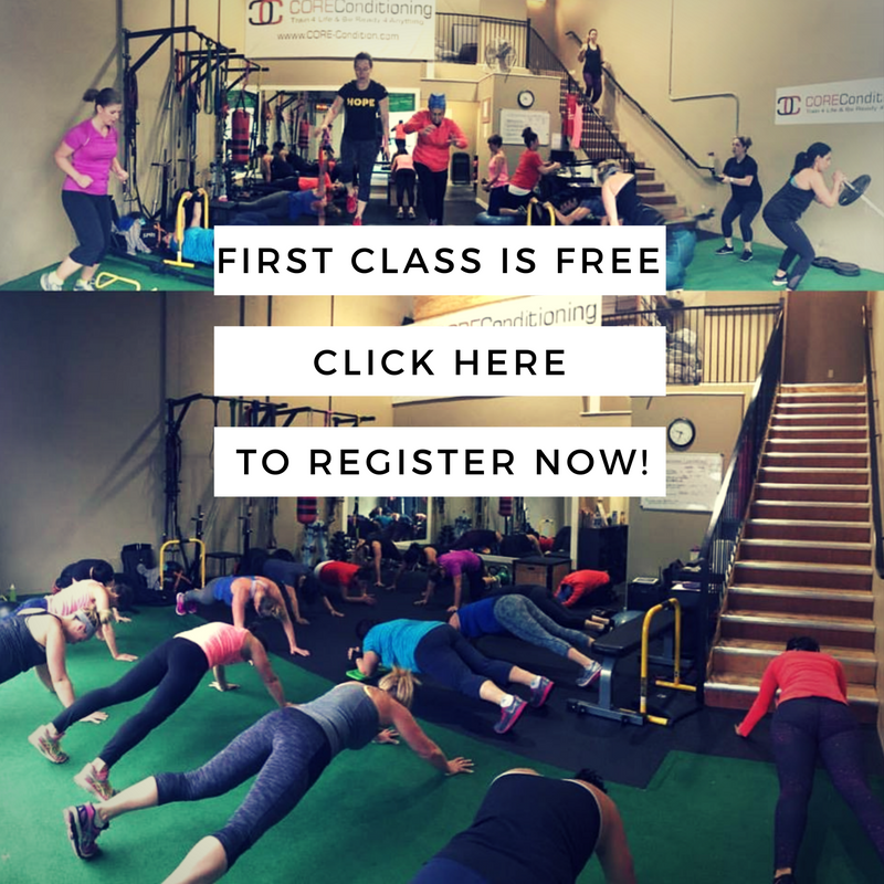 First personal trainer class