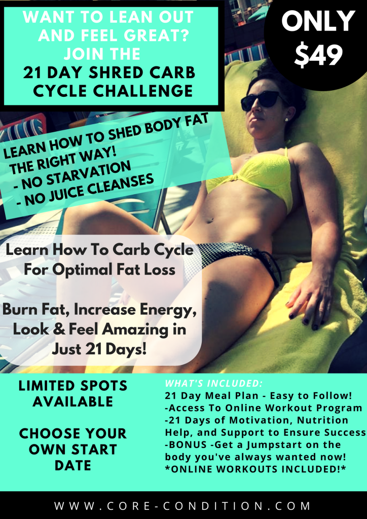 21 day challenge poster - michelleroots.com