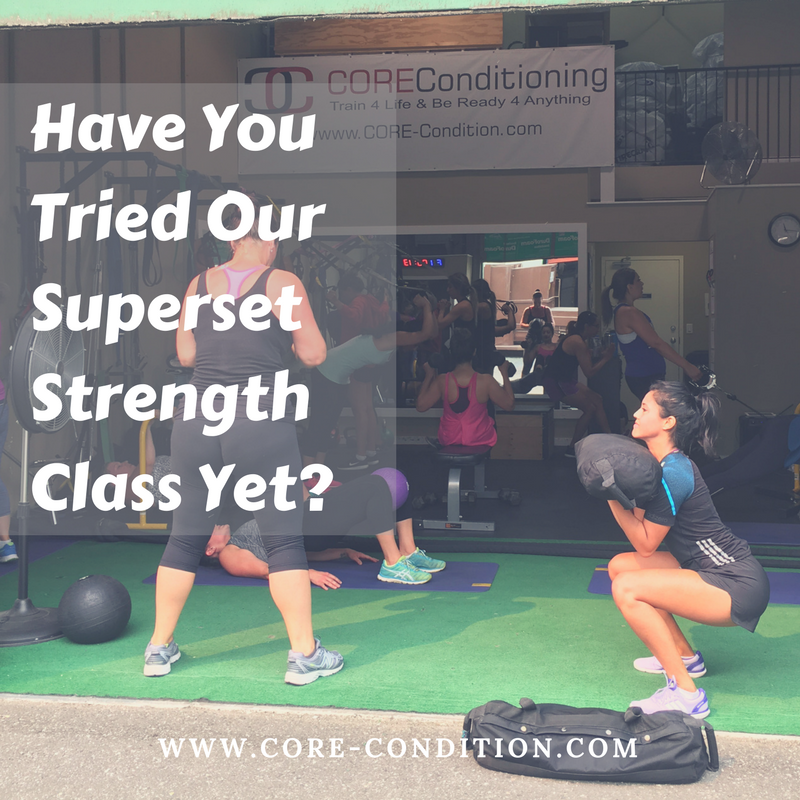 Have You Tried Our Superset Strength Class Yet?