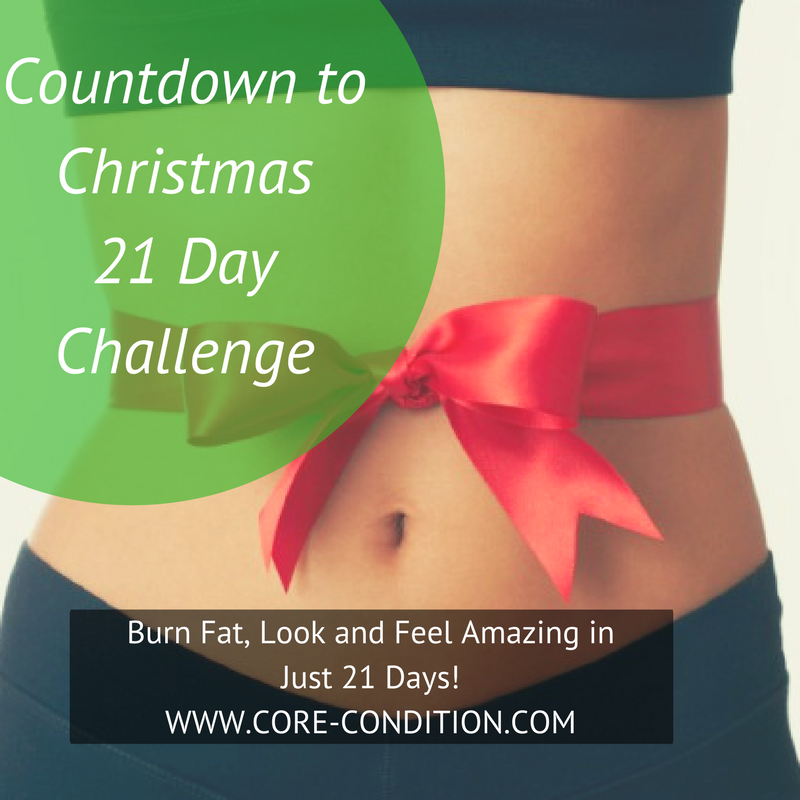 Join The Countdown to Christmas 21 Day Challenge